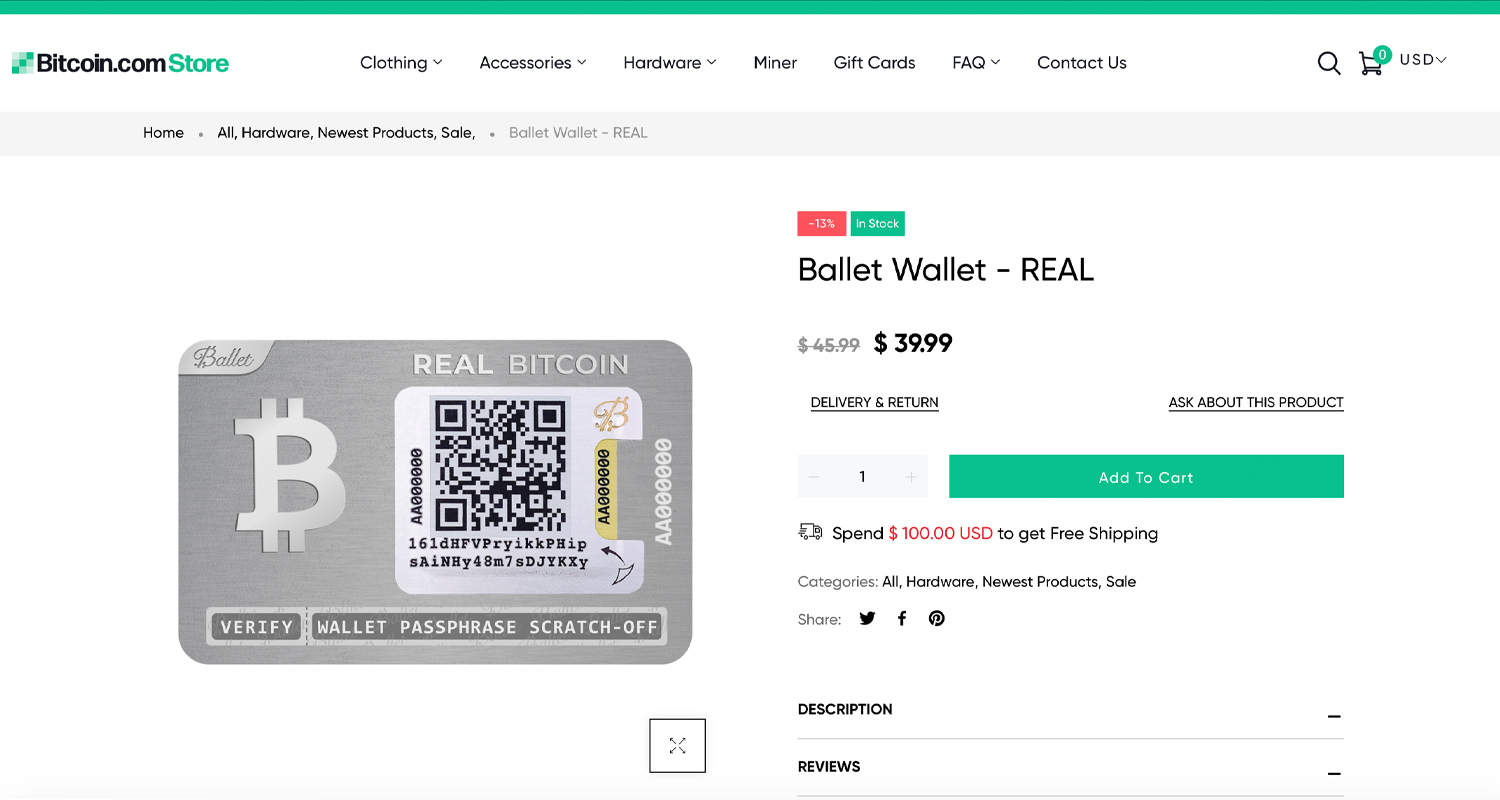 An In-Depth Look at the Multi-Currency Cold Storage Card Ballet