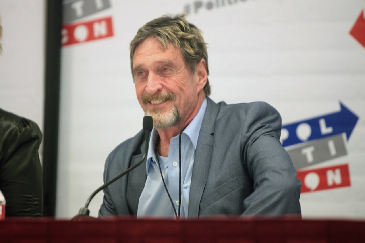 John McAfee Accused Of Plagiarism, PIVX's Claims McAfee Copied A Section For Ghost Project