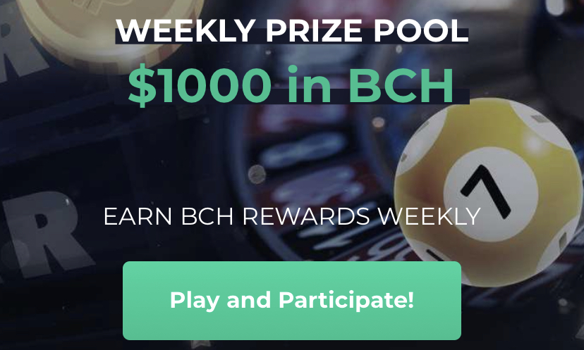 Win BCH with Bitcoin.com's Cash Games Stars Leaderboard