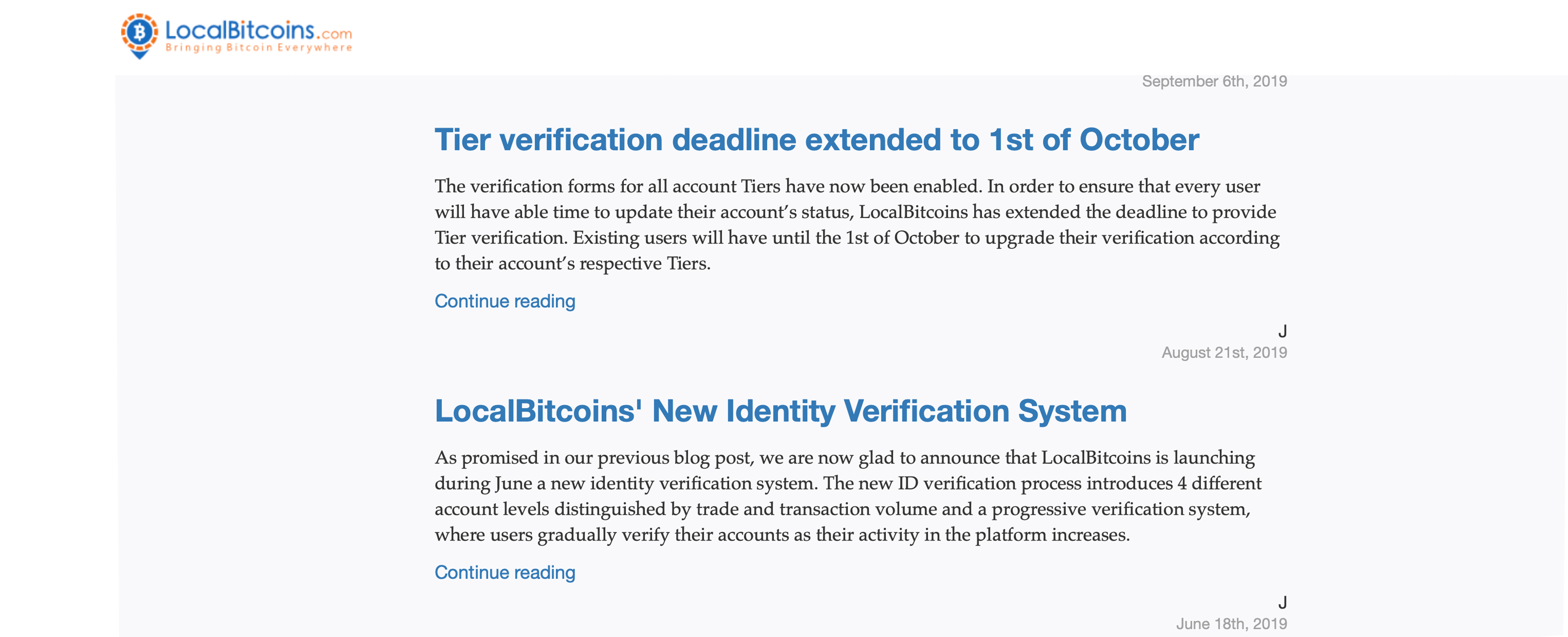 Traders Bemoan New Localbitcoins Identity Requirements
