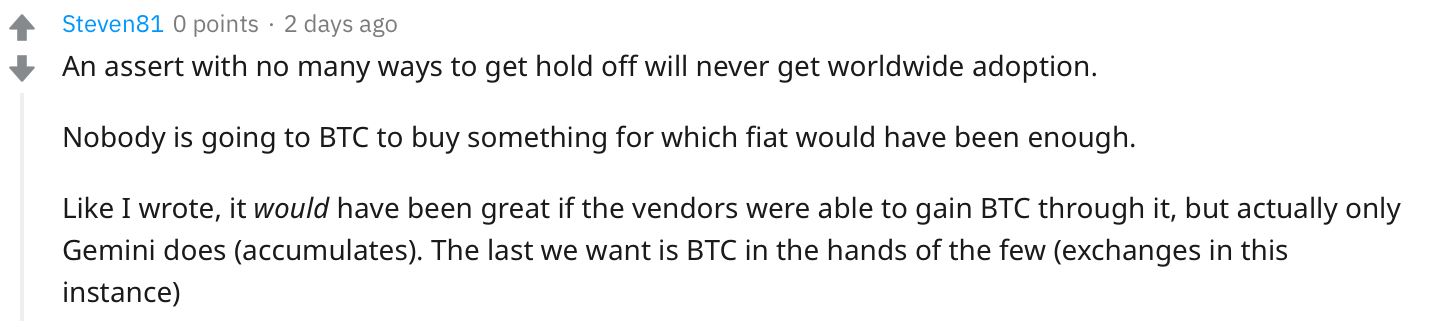 Without Disobedience, Bitcoin Is No Better Than Gold
