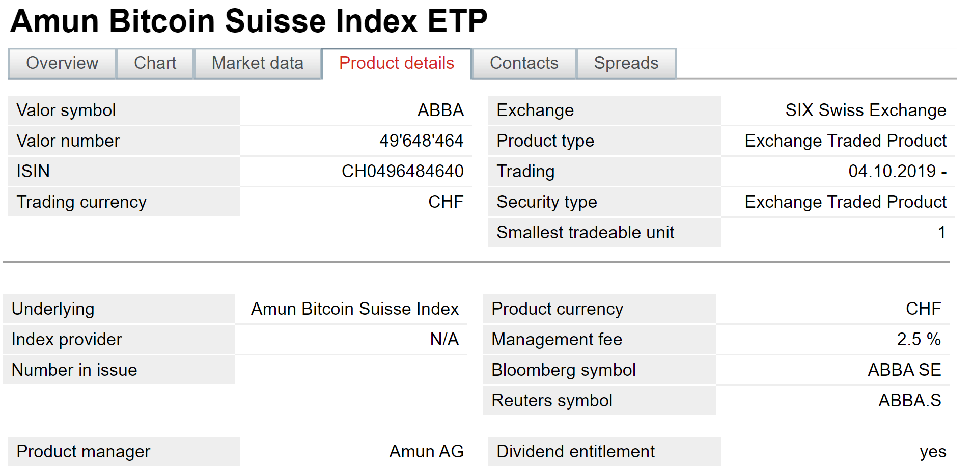 7 Crypto ETPs Now Trading on Main Swiss Stock Exchange