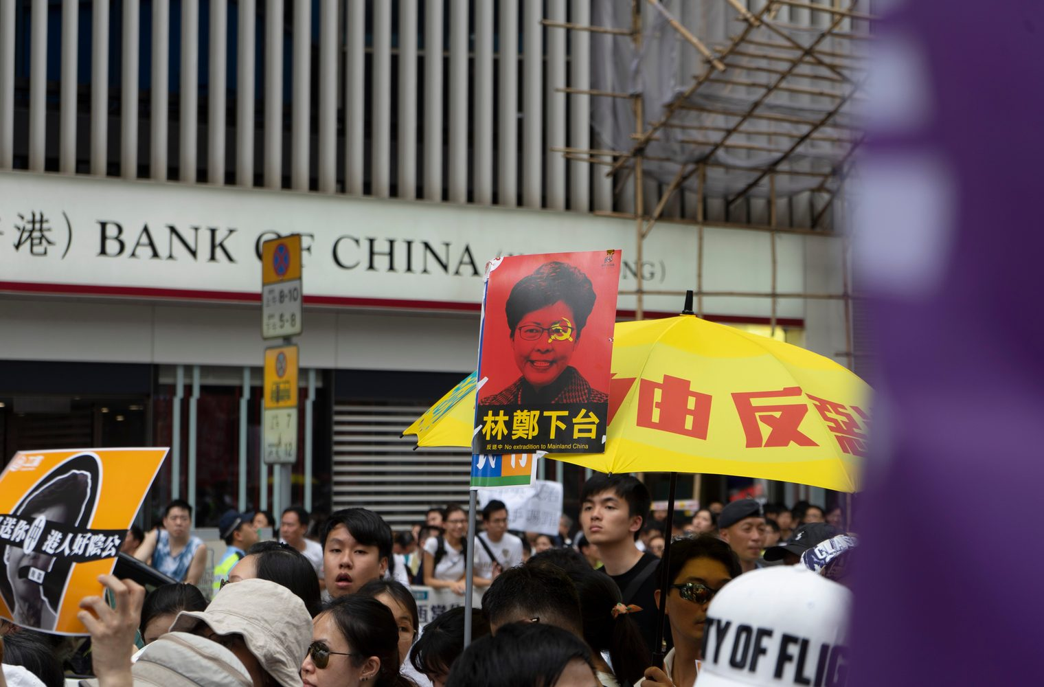 Economic Turmoil in Hong Kong Escalates as Colonial-Era Law Is Imposed