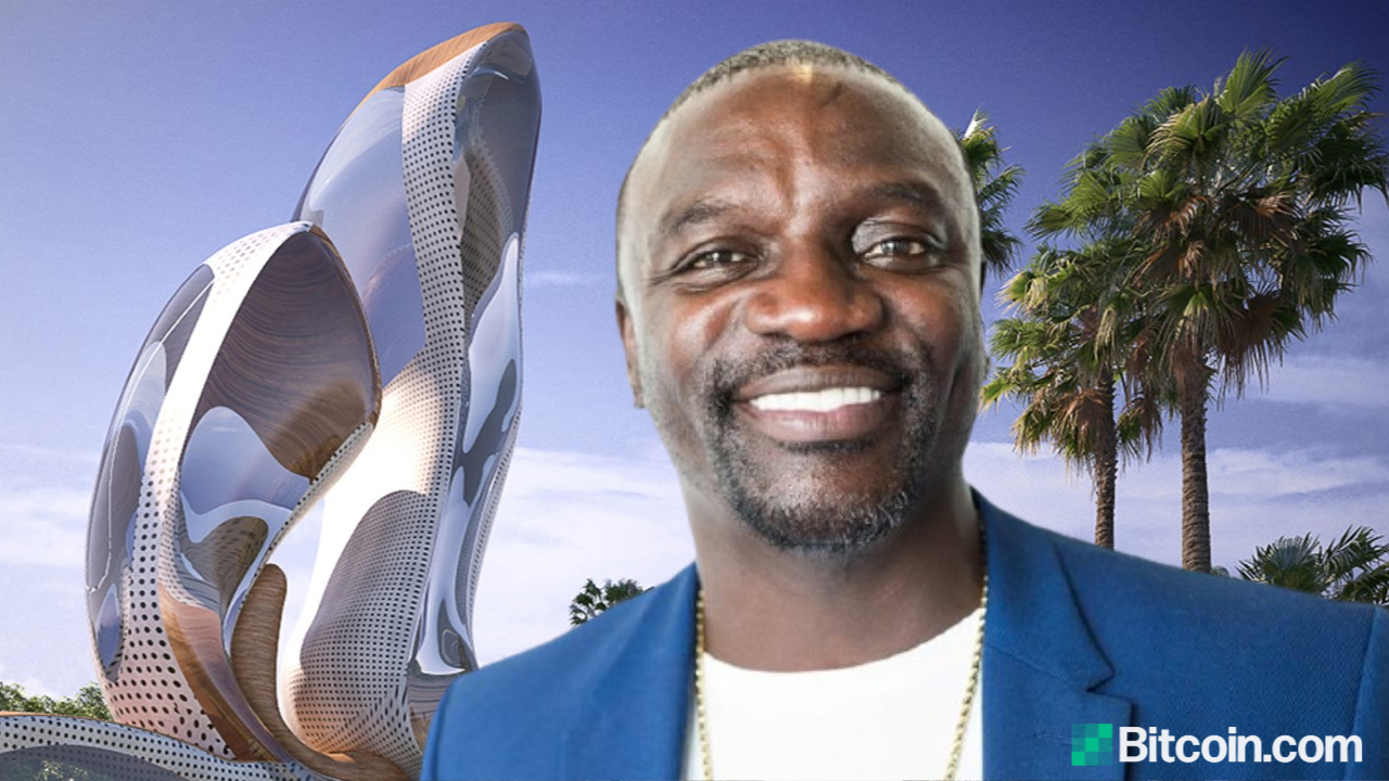 Akon City 2: Akon Unveils Plan to Build Second Futuristic Cryptocurrency City in Africa